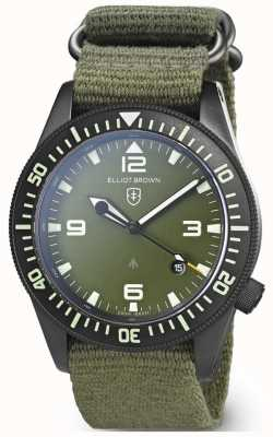 Elliot Brown | Mens | Holton Professional | Green Webbing 101-002-N01