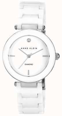 Anne Klein | Womens Alice | White Ceramic Bracelet Watch AK-N1019WTWT