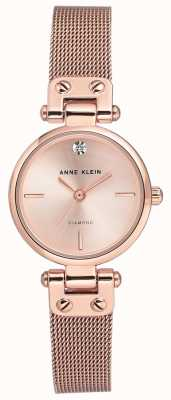 Anne Klein | Womens Cable Watch | Rose Gold Tone | AK-N3002RGRG