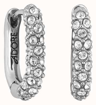 Adore By Swarovski Lozenge Pavé Earrings Silver 5448755