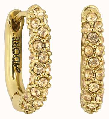 Adore By Swarovski Lozenge Pavé Earrings Gold Plated 5448756