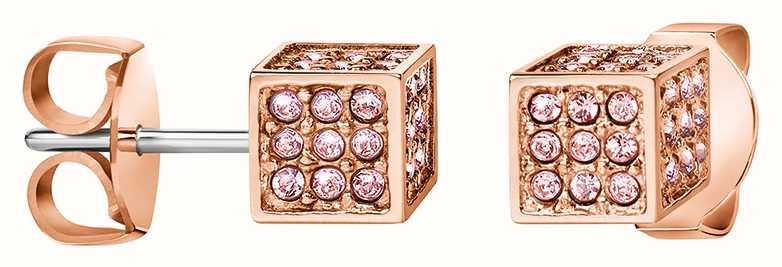 Calvin Klein | Womens Rocking | Rose Gold Earrings | Swarovski | KJ9CPE140100