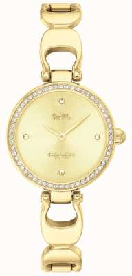Coach | Womens Park Watch | Gold Strap Gold Face | 14503171