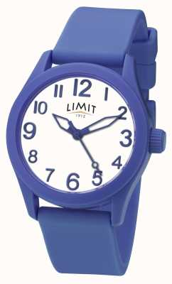 Limit | Blue Silicone Strap | White Dial | 5719