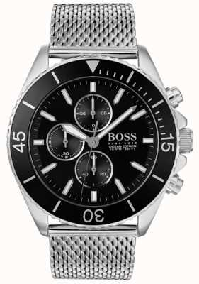 Boss | Mens Ocean Edition Steel Watch | 1513701