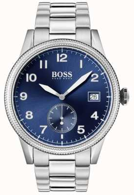 Boss | Mens Legacy Watch | Stainless Steel | Blue Dial | 1513707