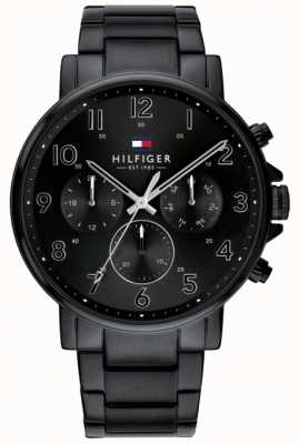 Tommy Hilfiger | Mens Black Daniel Watch | 1710383
