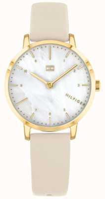 Tommy Hilfiger | Women's Lily Watch | Cream Strap | 1782038