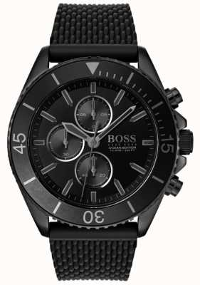 Boss | Mens Ocean Edition | Black Dial | Black Strap | 1513699