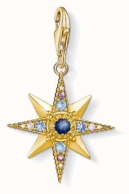 Thomas Sabo   Royalty Star   Gold Plated 925 Sterling Silver   1714-959-7