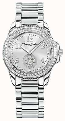 Thomas Sabo | Womens Glam & Soul Stainless Steel Watch | Silver Dial | WA0235-201-201-33