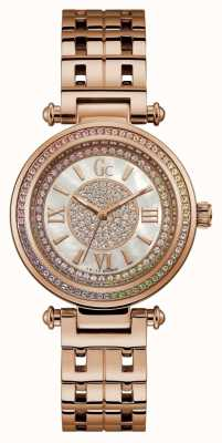 Gc | Womens PrimeChic | Rose Gold Stainless Steel | Y46008L1MF