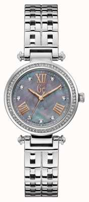 Gc | Womens PrimeChic | Silver Stainless Steel | Grey Dial | Y47001L5MF