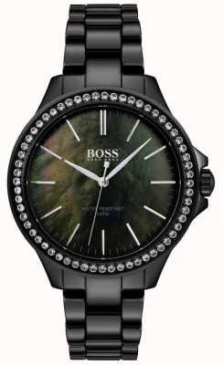 BOSS | Ladies Black Stainless Steel Watch | 1502456
