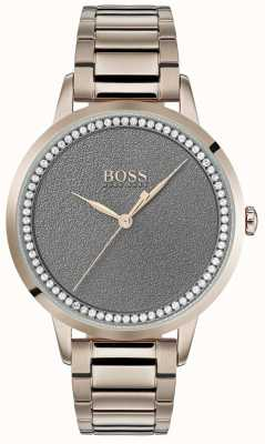 Hugo Boss | Womens Twilight Watch | Stainless Steel | Grey Dial | 1502463