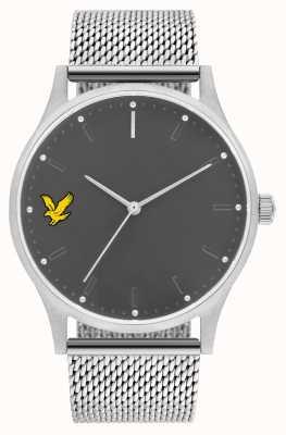Lyle & Scott Men's Hope SE Stainless Steel Mesh Bracelet Grey Dial LS-6013-11