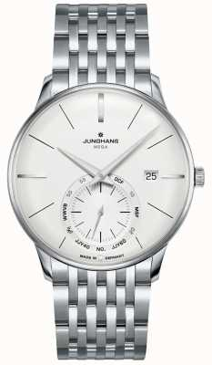 Junghans Meister MEGA Small Second | Stainless Steel Strap | 058/4900.46