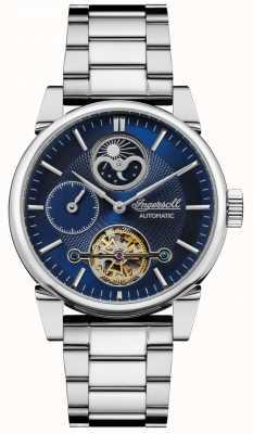 Ingersoll | Men's The Swing | Stainless Steel Bracelet | Blue Dial | I07501