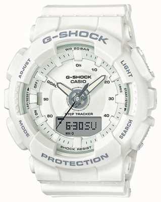 Casio | Womens Resin G-shock | White Strap | GMA-S130-7AER
