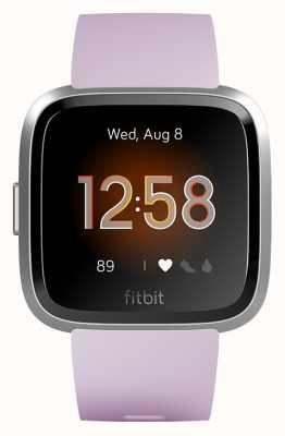 Fitbit Versa Lite Lilac/Silver Aluminum (online only) FB415SRLV