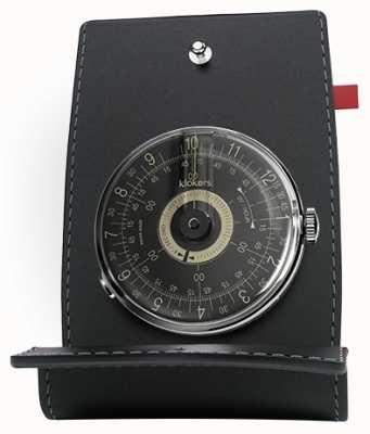 Klokers KLOK 08 Black Dial Watch Head Desk & Pocket KLOK-08-D3+KPART-01-C2