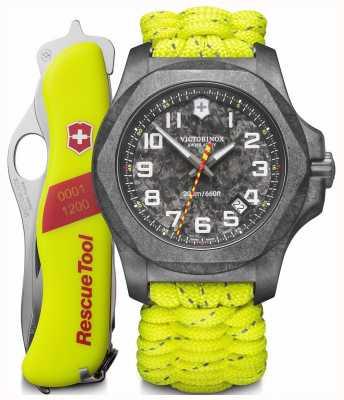Victorinox Swiss Army | I.N.O.X Carbon Limited Edition Watch & Knife Set | 241858.1