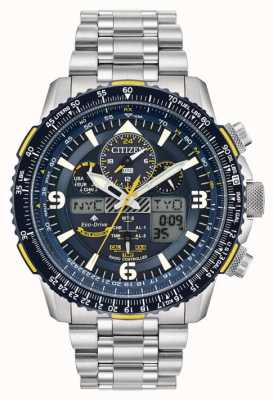 Citizen Men's Blue Angels Skyhawk A-T Eco-Drive Stainless Steel JY8078-52L