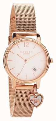 Radley | Womens Rose Gold Mesh Bracelet | Rose Gold Dial |