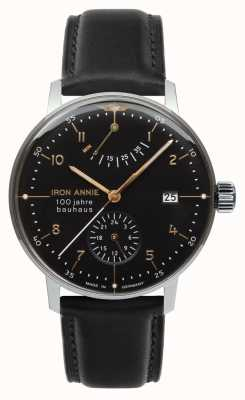 Junkers Iron Annie | Bauhaus | Power Reserve | Black Dial 5066-2
