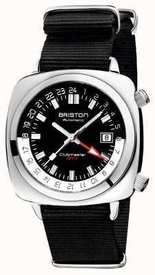 Briston Clubmaster GMT Limited Edition | Auto | Black Nato Strap 19842.PS.G.1.NB