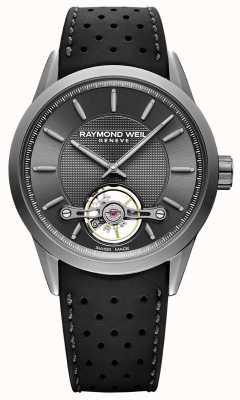 Raymond Weil Men's | Freelancer Automatic Grey Dial | Black Rubber Strap | 2780-TIR-60001