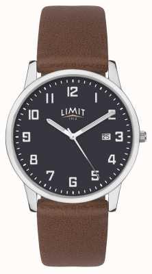 Limit | Men's Brown Leather Strap | Blue Dial | 5743.01