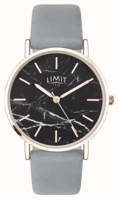 Limit | Womens Secret Garden | Grey Leather Strap | Black Dial | 60046.73