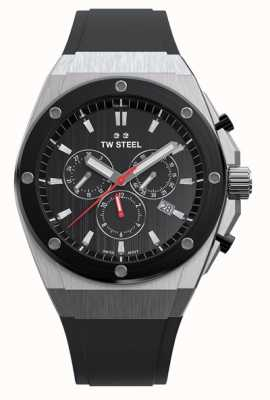 TW Steel | CEO Tech Limited Edition | Chronograph | Black Rubber | CE4042