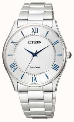 Citizen | Mens Eco-Drive | Stainless Steel Bracelet | Silver Dial | BJ6480-51B