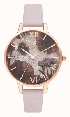 Olivia Burton | Womens | Celestial | Rose Quartz | Pearl Pink Leather | OB16SP15
