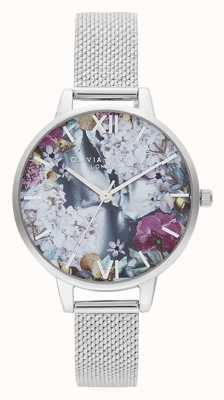 Olivia Burton | Womens | Under The Sea | Stainless Steel Boucle Mesh | OB16US11