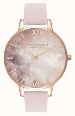 Olivia Burton | Womens | Semi Precious  | Blossom Leather Strap | OB16SP03