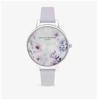 Olivia Burton | Womens | Sunlight Florals | Parma Violet Leather Strap | OB16EG137