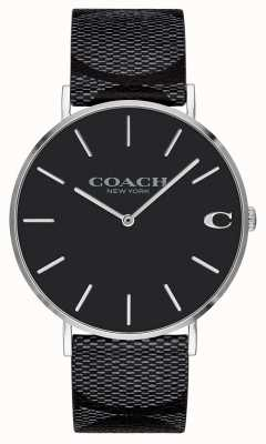 Coach | Mens | Signature | Charles | Black Leather | 14602157