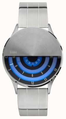 STORM   Mens   VLF   Blue Disc Dial   Stainless Steel   47443/LB