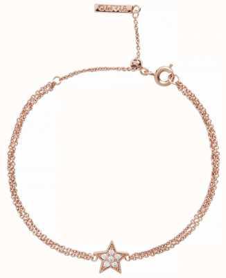 Olivia Burton | Celestial Star | Rose Gold | Chain Bracelet | OBJ16CLB02
