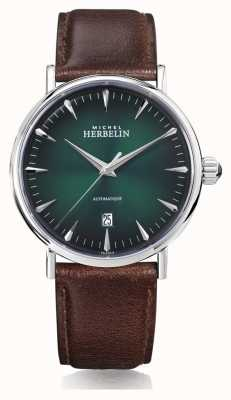 Michel Herbelin | Mens | Inspiration | Automatic | Green Dial | 1647/AP16BR
