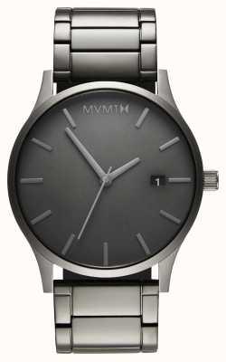 MVMT Classic Monochrome Link | PVD Plated Bracelet | Grey Dial D-MM01-GR