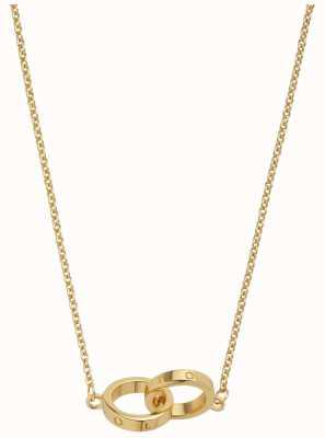 Olivia Burton | The Classics | Gold | Interlink Circle | Necklace | OBJ16ENN56