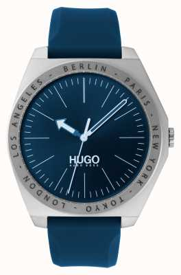 HUGO #Act | Blue Rubber Strap | Blue Dial 1530105