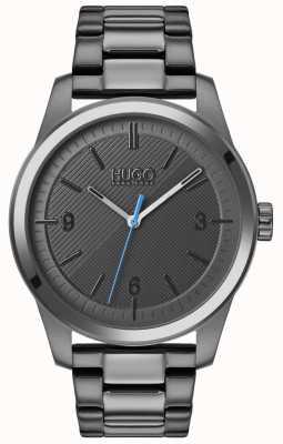 HUGO #Create | Grey IP Bracelet | Grey Dial 1530119