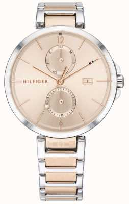 Tommy Hilfiger | Womens Two Tone Stainless Steel Bracelet | Blush Dial | 1782127
