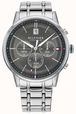 Tommy Hilfiger | Mens Stainless Steel Bracelet | Grey Dial | Chronograph | 1791632