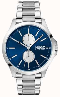 HUGO #jump | Stainless Steel Bracelet | Blue Dial 1530004